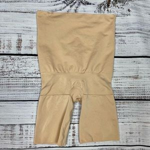 Assets by SPANX Nude High Waist Shaping Shorts M